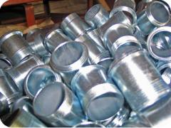 Cold galvanizing, anticorrosive protection