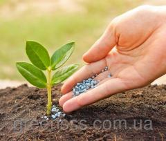 Fertilizing of lawn