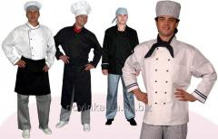 Пошив поварских костюмов