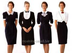 Sewing of corporate clothing