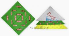 Нанесение логотипа на бандану