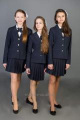Sewing of school uniform
