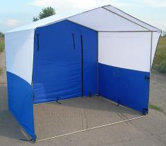 Manufacturing of trade tents on order