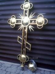 Изготовление надкупольных крестов