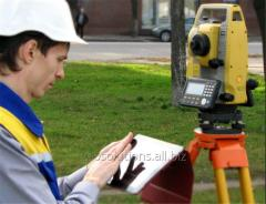 Geodetic and topographic surveys