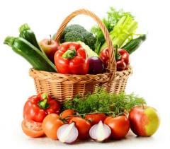 Постачання продуктів харчування,овочів.