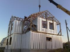 Rapid construction of cheap houses