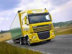 Cargo motor transport.