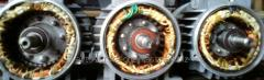 Ремонт асинхронных двигателей