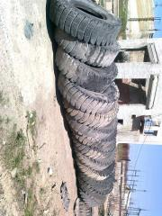 Ilization of automobile tires, special equipment,