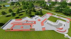 Projects of skateparks and extreme objects