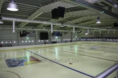 Design of ice skating rinks