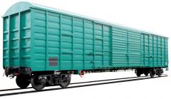 Аренда крытых вагонов 150м3, модели 11-7038