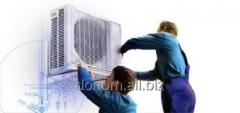 Installation of air conditioners