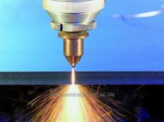 Laser cutting of sheet metal