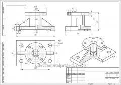3D моделирование в  SolidWorks и изготовление чертежей и производственной документации
