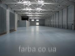 Bulk floor (material and work), works on the