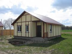 Construction of warm country houses