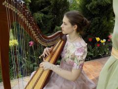 Живая арфовая музыка