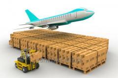 Los transportes aéreos de las cargas