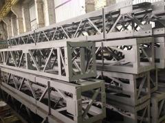 Производство промышленных металлоконструкций