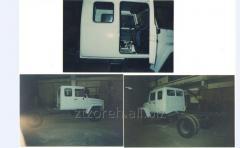 Repair of cars, trucks, micro-buses, jeeps