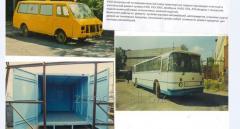 Поточный ремонт автобусов Икариус с покраской