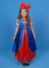 "Children's carnival costume ""Snow"