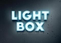 Production of light boxing