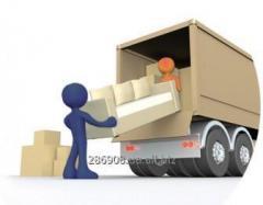 Перевозка вещей и мебели в Одессе