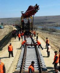 Капитальный ремонт и реконструкция железнодорожных путей