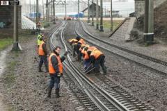 Подъемочный ремонт железнодорожного пути