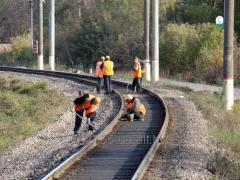 Текущее содержание железнодорожного пути