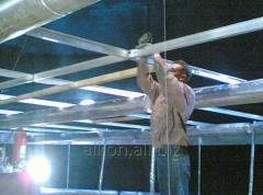 Ремонт или монтаж плавающей крыши