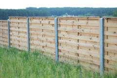 Build wooden fences and gates