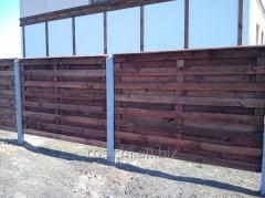 Construction, installation of fences and barriers