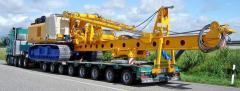 Автоперевозки негабаритных грузов из Греции в Украину