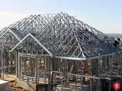 Строительство из металлопрофиля.