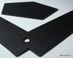 Фрезерная резка ABS пластика