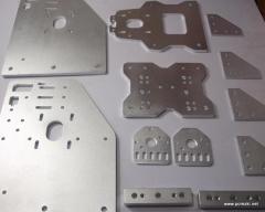 Обработка алюминия и дюрали на фрезерном станке