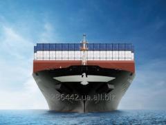 Международные контейнерные грузоперевозки.
