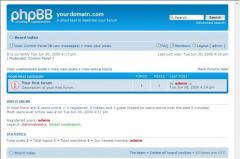 We create a forum and I will adjust on Phpbb