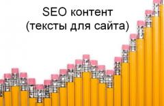 The SEO optimized articles for the websites and