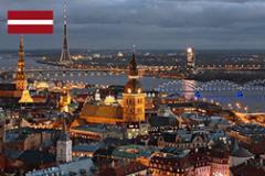 The visa to Latvia