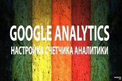 Установим и настрою Google Analytics