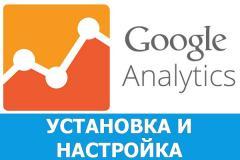 Установка Google Analytics и настройка целей
