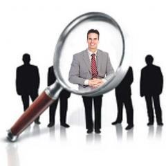 Staff recruitment, development of personnel