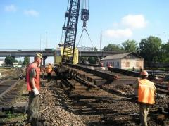 Dismantle of railway tracks and purchase of