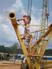 Монтаж-дмонтаж, ремонт та обслуговування в/п техніки, кранів: баштових, козлових, самохідних