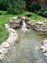 Создание  декоративных водоемов  бетонных